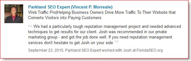 SEO Expert recommendation